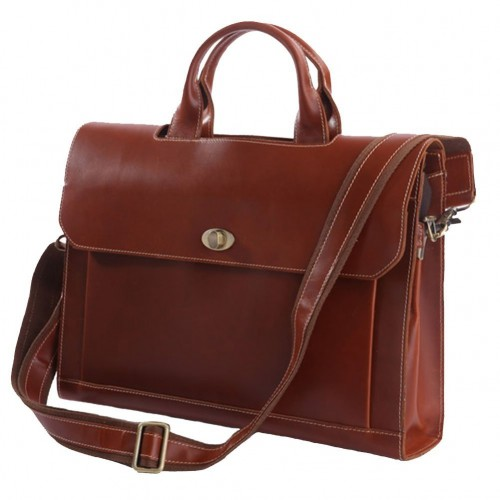 Downtown Leather Briefcase